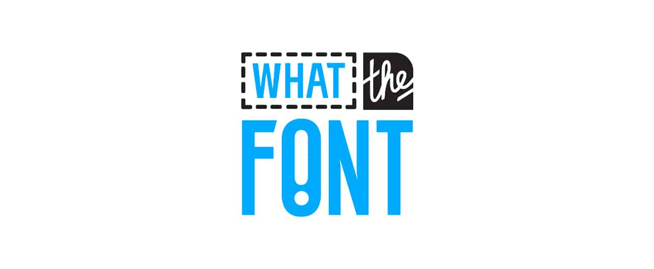 What The Font logo